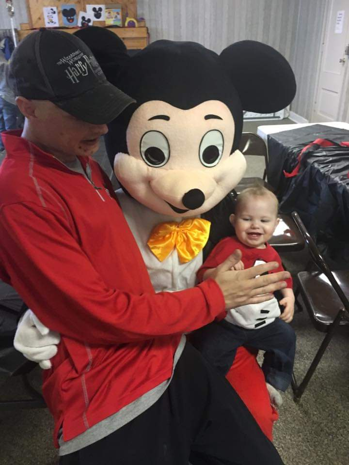 Brays 1st birthday